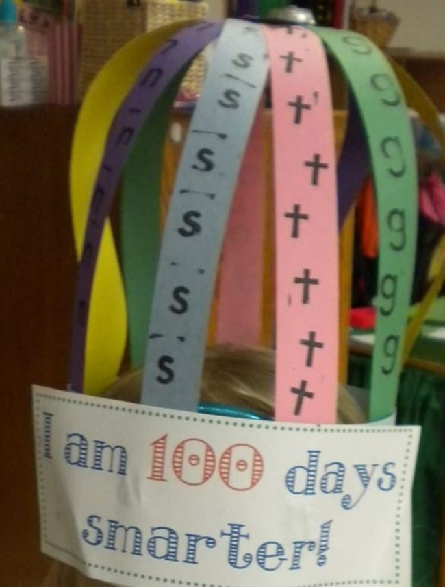 45 Best 100th Day of School Resources - 100 Days Smarter Hat - Teach Junkie