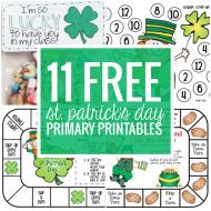 11 Free St. Patrick's Day Primary Printables