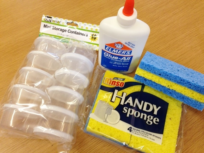 12 Glue Sponges Tutorials - Every Detail Explained -one glue sponge for each kid - Teach Junkie