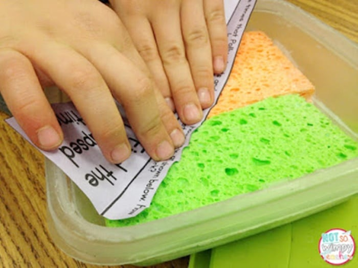 12 Glue Sponges Tutorials - Every Detail Explained -use glue sponges if you love using interactive notebooks - Teach Junkie