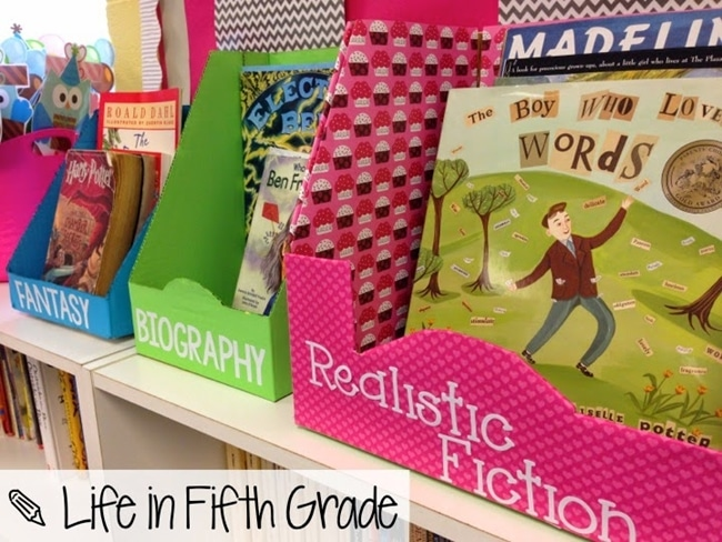 14 Stunning Classroom Decorating Ideas to Make Your Classroom Sparkle How to DIY Curriculum Boxes to Cute Book Display Boxes - Teach Junkie