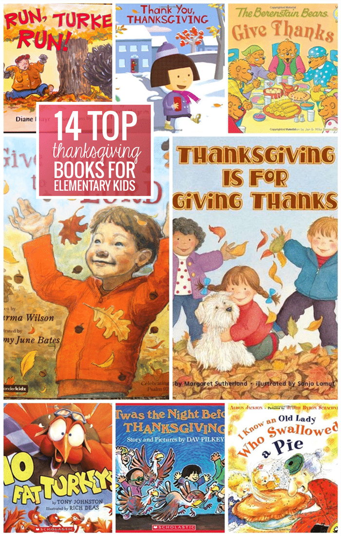 14 Top Thanksgiving Books for Elementary Kids - Teach Junkie
