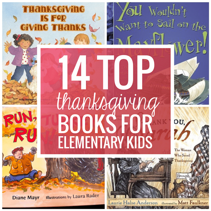 14 Top Thanksgiving Books for Elementary Kids