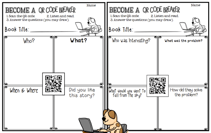 16 Fun QR Code Learning Activities for Free - Breaking the Code - Teach Junkie