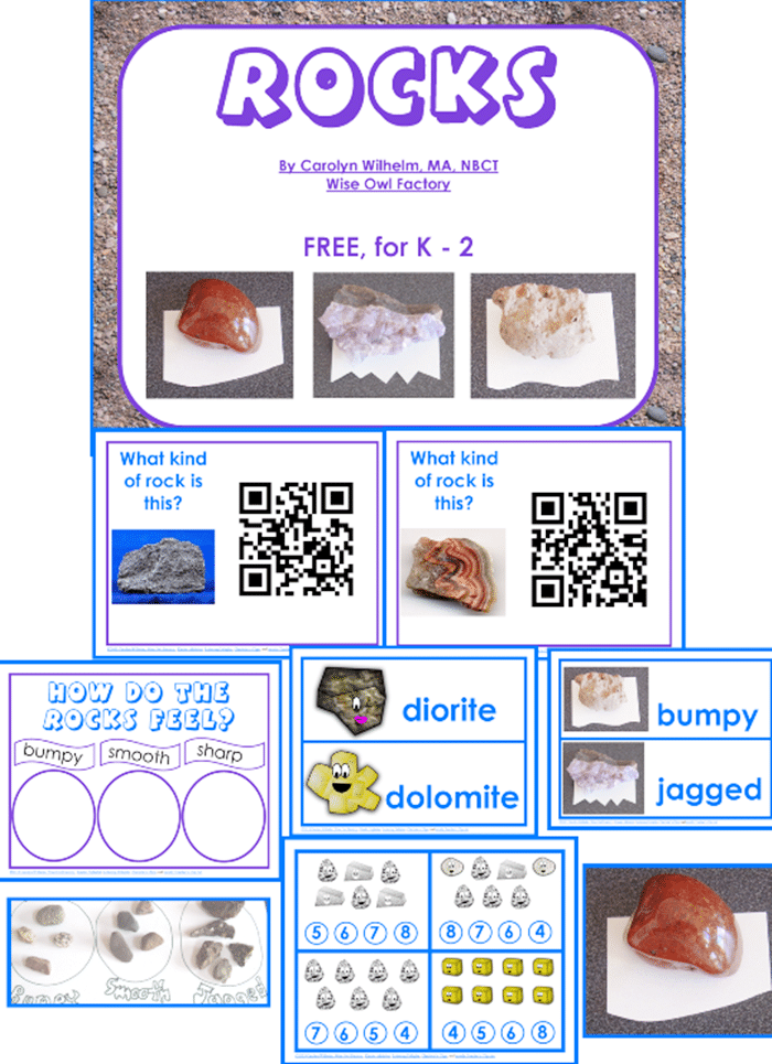 16 Fun QR Code Learning Activities for Free - Identifying Types of Rocks - Teach Junkie