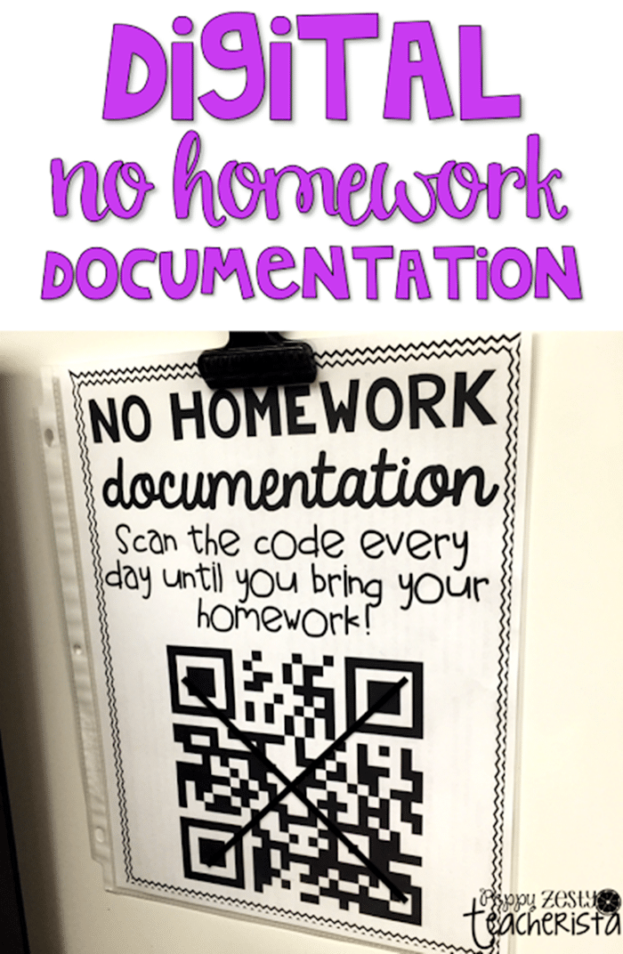 16 Fun QR Code Learning Activities for Free - Tracking Late Student Work - Teach Junkie