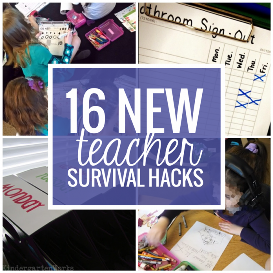16 New Teacher Survival Hacks and Life-Savers