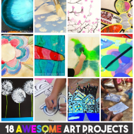 18 Awesome Art Projects for Your Classroom