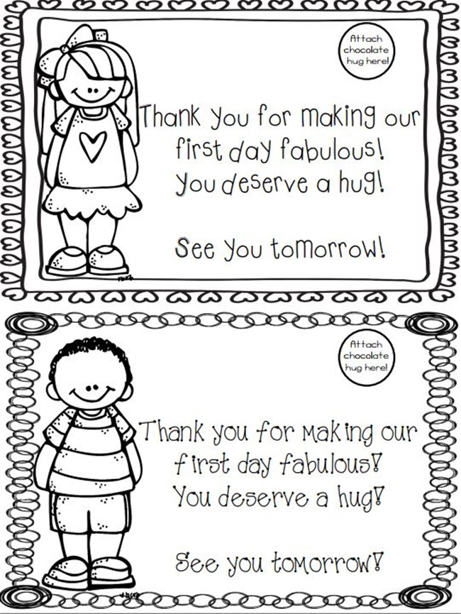 Free Printable First Day Of School Award Teach Junkie