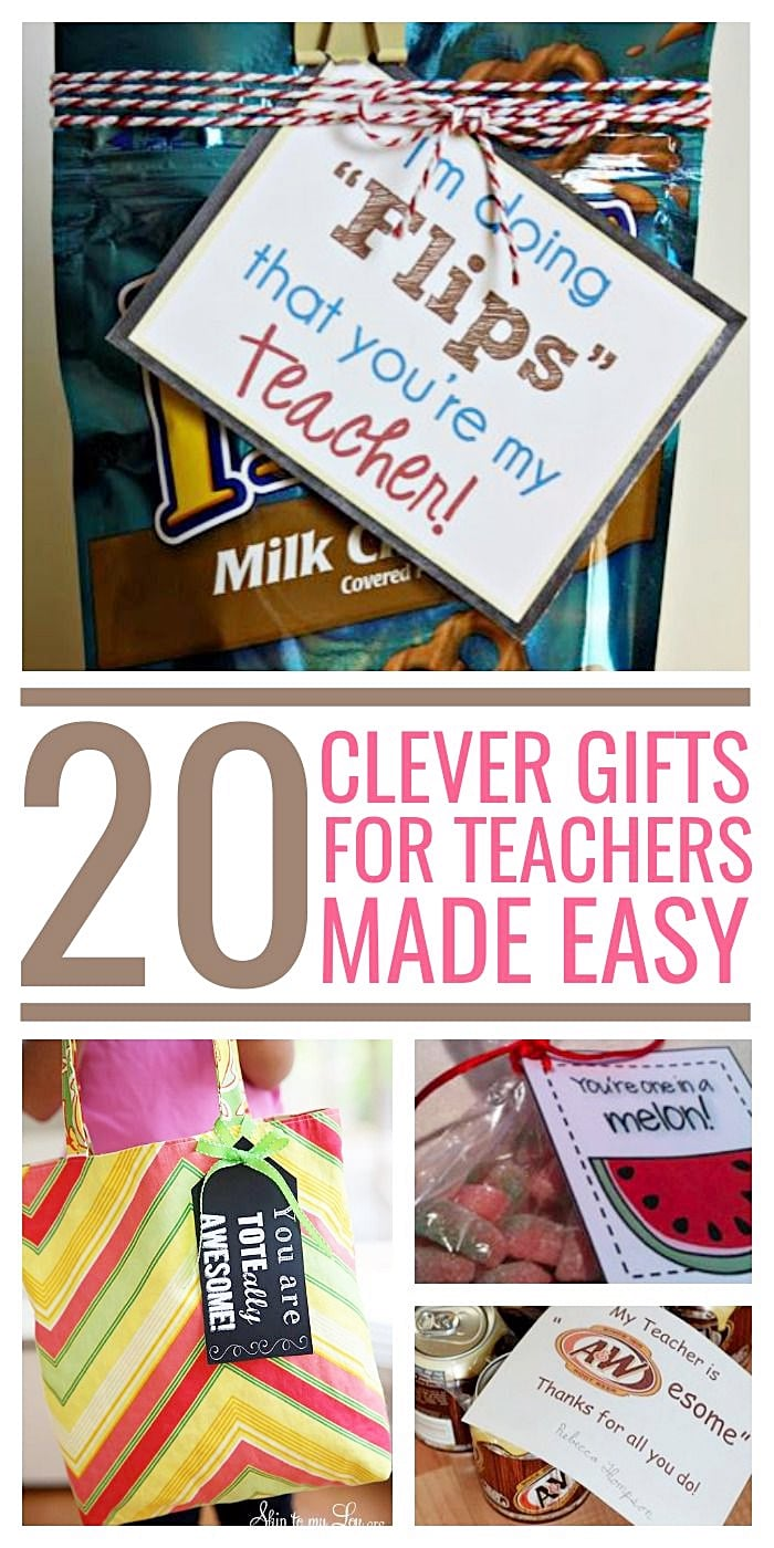 20 Clever Gifts for Teachers: Teach Junkie