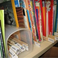 Space Saving Solution for Classroom Library Book Storage