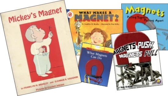 5 Easy Magnetism Experiments and Activities for Kids - books