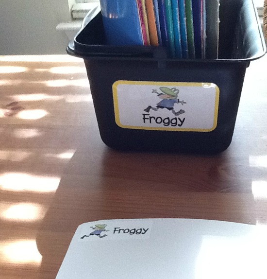 Classroom Library Organization Labels