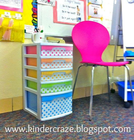 Classroom Polka Dot Decor {DIY}