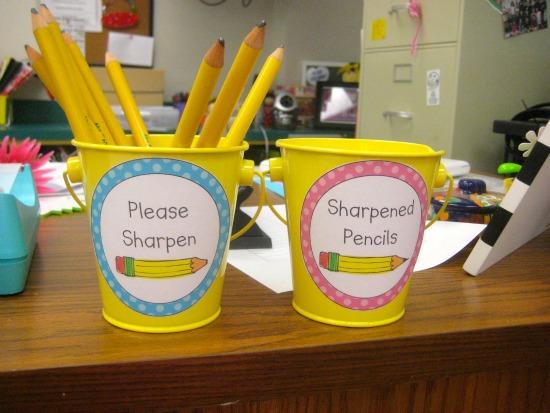 Teaching Tips for Pencil Management - Teach Junkie