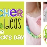 4 Teacher Bling Ideas for St. Patrick's Day