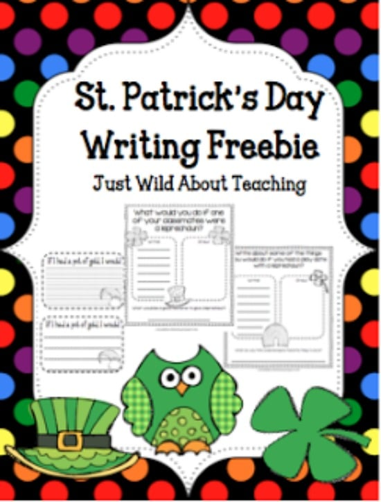 Teach Junkie: 33 St. Patrick's Day Math Ideas and ELA Activities