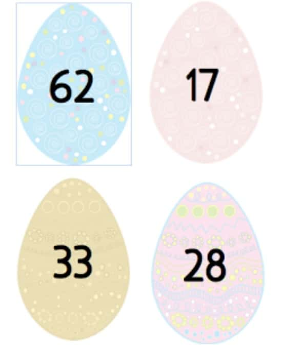 "Teach Junkie: 16 Spring and Easter Math Ideas {Free Download} - ""Egg""spanded Form"