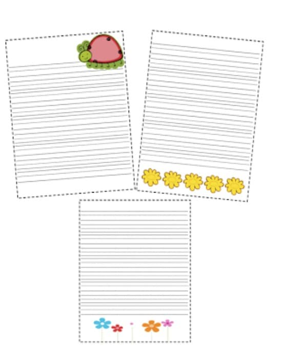 Teach Junkie: 5 Spring Writing Templates {Free Download} - Spring Papers