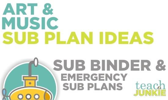 Teach Junkie: Art and Music Sub Plan Ideas