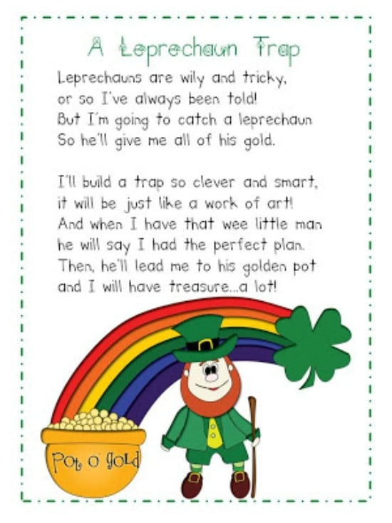 Teach Junkie: 4 St. Patrick's Day Writing Prompts - How to Plan a Leprechaun Visit