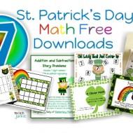 7 St. Patrick's Day Math Free Downloads