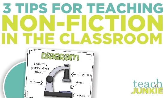 Teach Junkie: Teaching Common Core Non-Fiction - 3 Tips