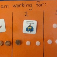"""Classroom Management Technique: """"I am working for"""" Board"""