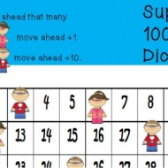 Superhero Hundreds Chart Game {Free Printable}