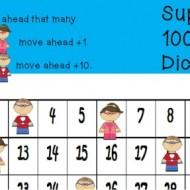 Superhero Hundreds Chart Game {Free Printable}
