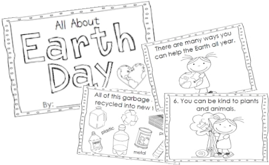 7 fast activities for earth day and free printables teach junkie. Black Bedroom Furniture Sets. Home Design Ideas