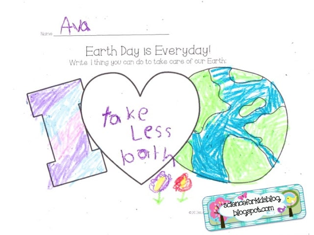 7 Fast Activities for Earth Day and Printables {Free} Teach Junkie