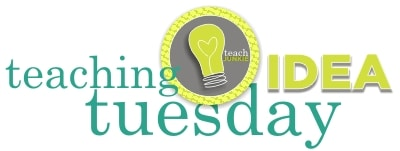 Teach Junkie: Teaching Idea Tuesday - Lesson Plans, Activities, Tips