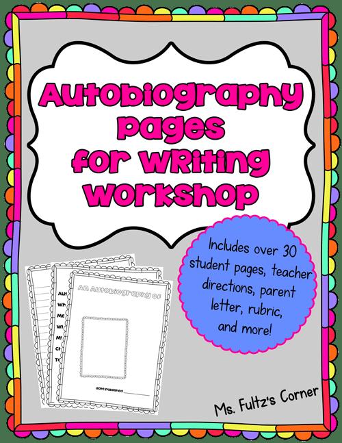 Teach Junkie: Autobiography Writing
