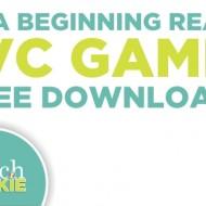 4 ELA Beginning Reader CVC Games {Free Download}