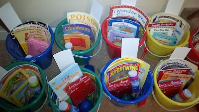 Teach Junkie: 26 Fun and Memorable End of the School Year Celebration Ideas - Student Bucket Gifts