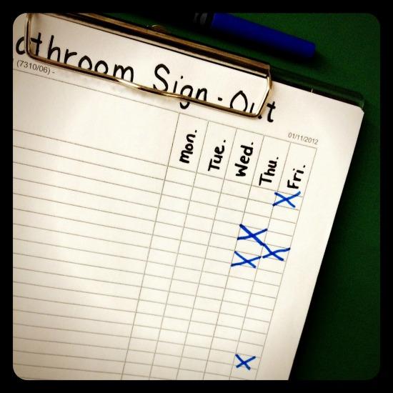 SIMPLE CLASSROOM MANAGEMENT PROCEDURE IDEAS – LEAVING THE ROOM