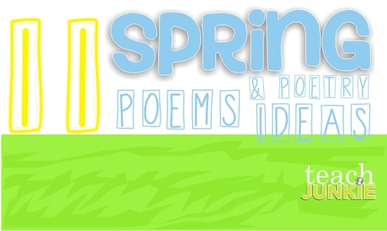11 Spring Poems for Children and Poetry Ideas
