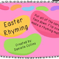 Easter Rhyming Cards {free printable}