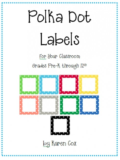 photograph relating to Free Printable Name Tags for Students identified as 21 Free of charge Clroom Business Labels and Tags - Educate Junkie