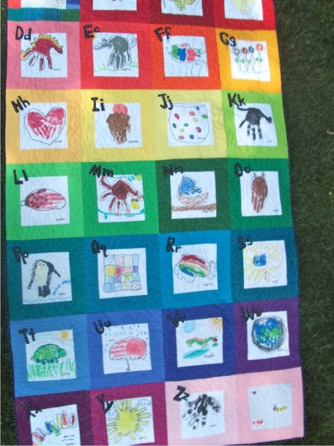Classroom Paper Quilt Ideas ~ Fun and memorable end of the school year celebration