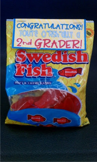 """Teach Junkie: 17 Simple End of the school Year Student Gifts and Writing Activities - o""""fish""""ally a second grader"""