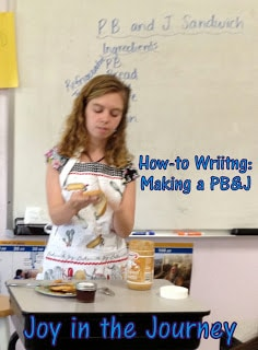How To Writing: Making a PB&J