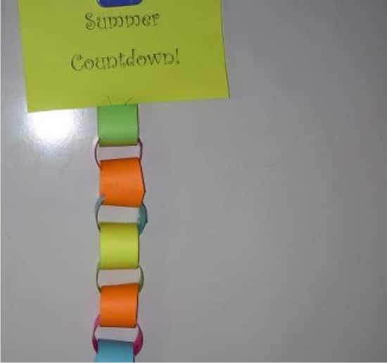 Teach Junkie: 17 Simple End of the school Year Student Gifts and Writing Activities - Summer Countdown