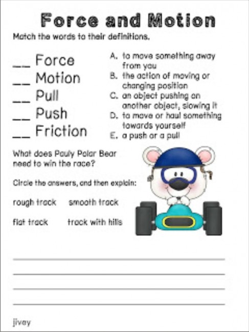 19 Fun Ideas & Resources for Force and Motion - Teach Junkie