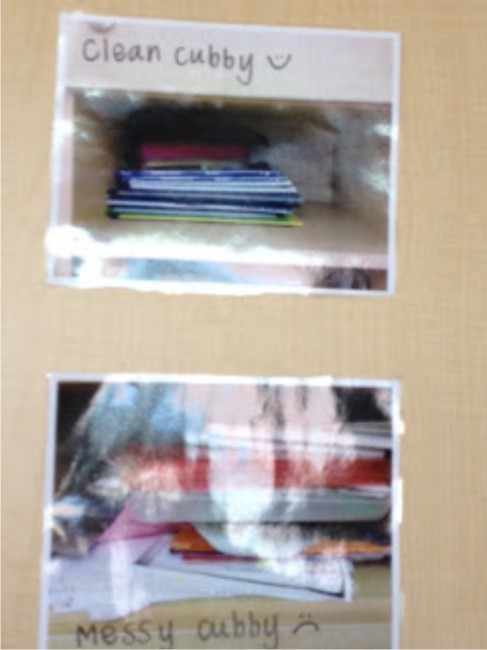 Teach Junkie: 21 Classroom Organization Labels and Tags - Clean Cubby/Messy Cubby