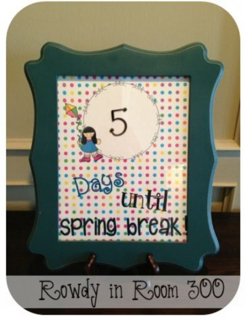 Teach Junkie: 26 Fun and Memorable End of the School Year Celebration Ideas - Holiday Countdown Free Printable