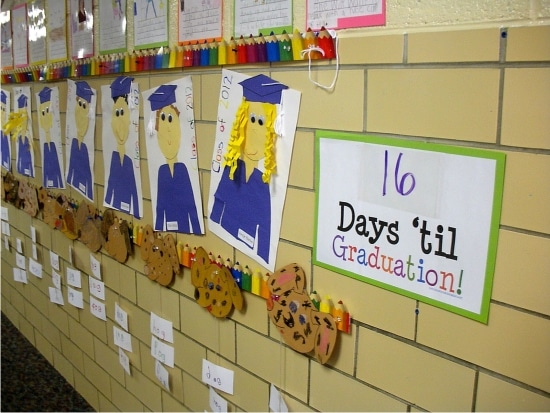 Teach Junkie: 26 Fun and Memorable End of the School Year Celebration Ideas - Graduation Countdown Printable