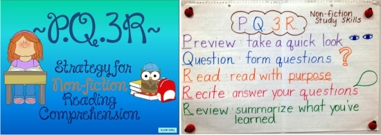 "Teach Junkie: ""PQ3R"" Non-fiction Reading Strategy"
