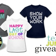 Teacher T-Shirts $60 {giveaway} CLOSED